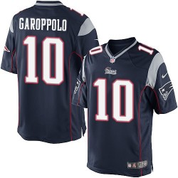 New England Patriots Jimmy Garoppolo Official Nike Navy Blue Limited Adult Home NFL Jersey