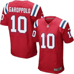 New England Patriots Jimmy Garoppolo Official Nike Red Elite Adult Alternate NFL Jersey