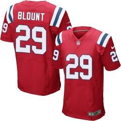 New England Patriots LeGarrette Blount Official Nike Red Elite Adult Alternate NFL Jersey