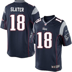 New England Patriots Matthew Slater Official Nike Navy Blue Limited Adult Home NFL Jersey