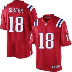 New England Patriots Matthew Slater Official Nike Red Limited Adult Alternate NFL Jersey