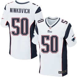 New England Patriots Rob Ninkovich Official Nike White Elite Adult Road NFL Jersey