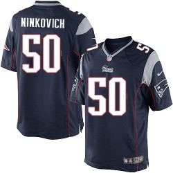 New England Patriots Rob Ninkovich Official Nike Navy Blue Limited Adult Home NFL Jersey