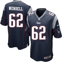 New England Patriots Ryan Wendell Official Nike Navy Blue Game Adult Home NFL Jersey