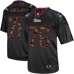 New England Patriots Sebastian Vollmer Official Nike Black Elite Adult Camo Fashion NFL Jersey