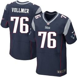 New England Patriots Sebastian Vollmer Official Nike Navy Blue Elite Adult Home NFL Jersey