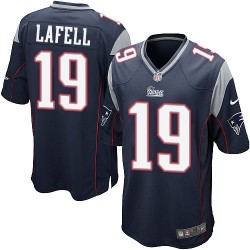 New England Patriots Brandon LaFell Official Nike Navy Blue Game Adult Home NFL Jersey
