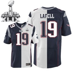 New England Patriots Brandon LaFell Official Nike Two Tone Limited Adult Team/Road Super Bowl XLIX NFL Jersey