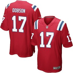 New England Patriots Aaron Dobson Official Nike Red Game Adult Alternate NFL Jersey