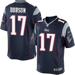 New England Patriots Aaron Dobson Official Nike Navy Blue Limited Adult Home NFL Jersey