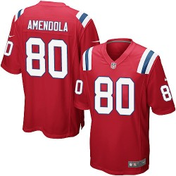 New England Patriots Danny Amendola Official Nike Red Game Adult Alternate NFL Jersey
