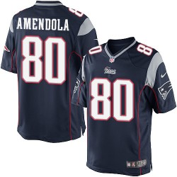 New England Patriots Danny Amendola Official Nike Navy Blue Limited Adult Home NFL Jersey