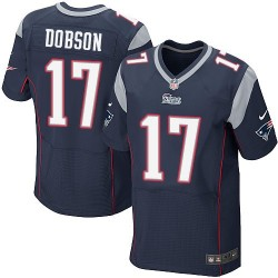 New England Patriots Aaron Dobson Official Nike Navy Blue Elite Adult Home NFL Jersey