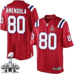 New England Patriots Danny Amendola Official Nike Red Limited Adult Alternate Super Bowl XLIX NFL Jersey