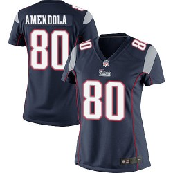 New England Patriots Danny Amendola Official Nike Navy Blue Elite Women's Home NFL Jersey