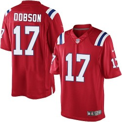 New England Patriots Aaron Dobson Official Nike Red Limited Adult Alternate NFL Jersey