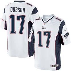 New England Patriots Aaron Dobson Official Nike White Limited Adult Road NFL Jersey