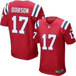 New England Patriots Aaron Dobson Official Nike Red Elite Adult Alternate NFL Jersey