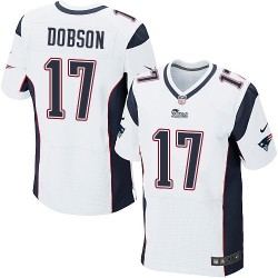 New England Patriots Aaron Dobson Official Nike White Elite Adult Road NFL Jersey
