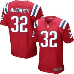 New England Patriots Devin McCourty Official Nike Red Elite Adult Alternate NFL Jersey