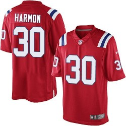 New England Patriots Duron Harmon Official Nike Red Limited Adult Alternate NFL Jersey