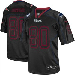 New England Patriots Irving Fryar Official Nike Lights Out Black Elite Adult NFL Jersey