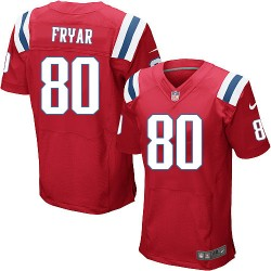 New England Patriots Irving Fryar Official Nike Red Elite Adult Alternate NFL Jersey