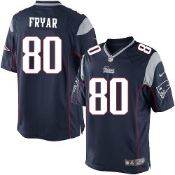New England Patriots Irving Fryar Official Nike Navy Blue Limited Adult Home NFL Jersey