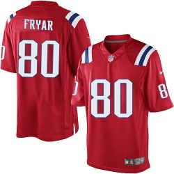 New England Patriots Irving Fryar Official Nike Red Limited Adult Alternate NFL Jersey