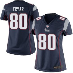 New England Patriots Irving Fryar Official Nike Navy Blue Elite Women's Home NFL Jersey
